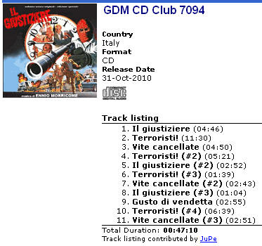 GDM CD Club 7094