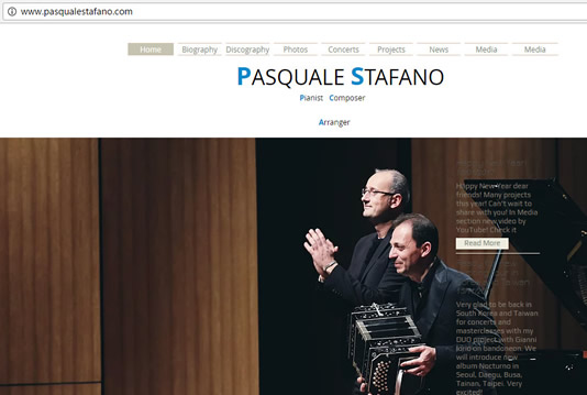 Pasquale Stafano and Pianist, Composer, Arranger